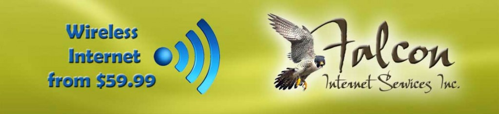 Wireless Internet from Falcon Internet Services